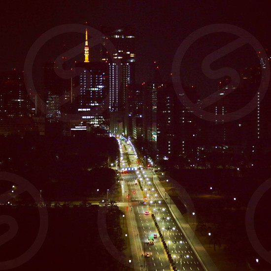 Tokyo at night photo