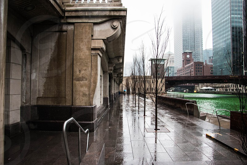 Down by the Chicago river.  photo