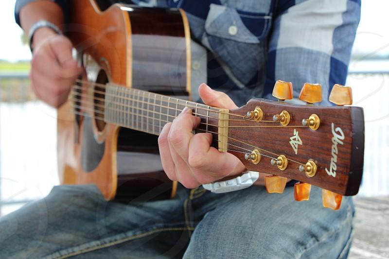 guitar music acoustic photo