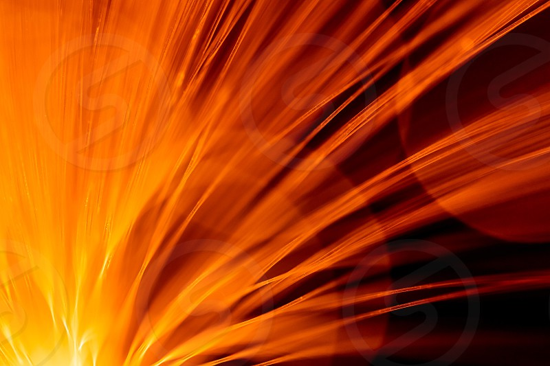 Fibre Optic Abstract photo
