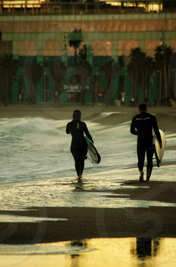 Two Surfers photo