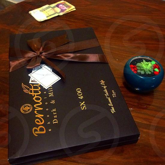 Piano class chocolate gift photo