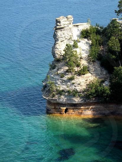 Castle Rock Munising MI photo