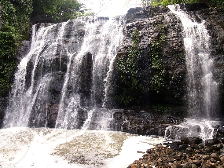 Hinulugang Taktak Waterfalls and Nature Park in Antipolo City Philippines. photo
