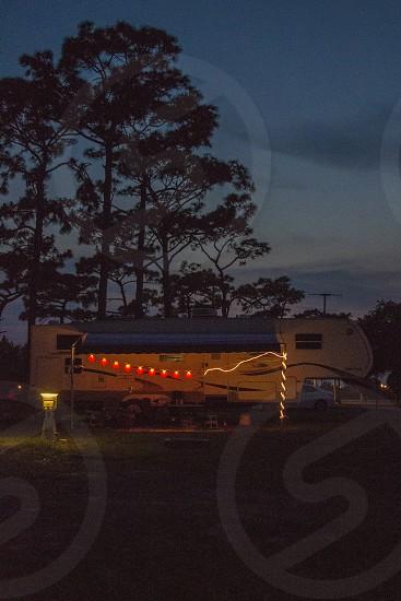 RV on a Florida campground photo