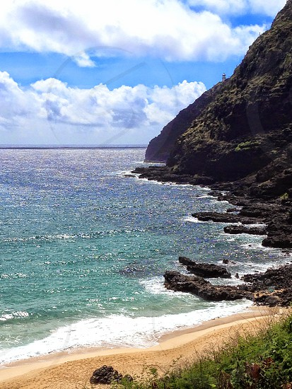 Shining hawaiian sea  photo