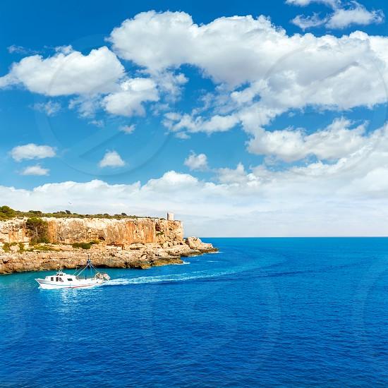 Majorca Cala Figuera in Santanyi Mallorca Balearic islands of spain photo