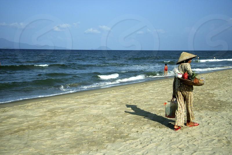 An Bang Beach adjacent to Cua Dai Beach Hoi An Vietnam photo