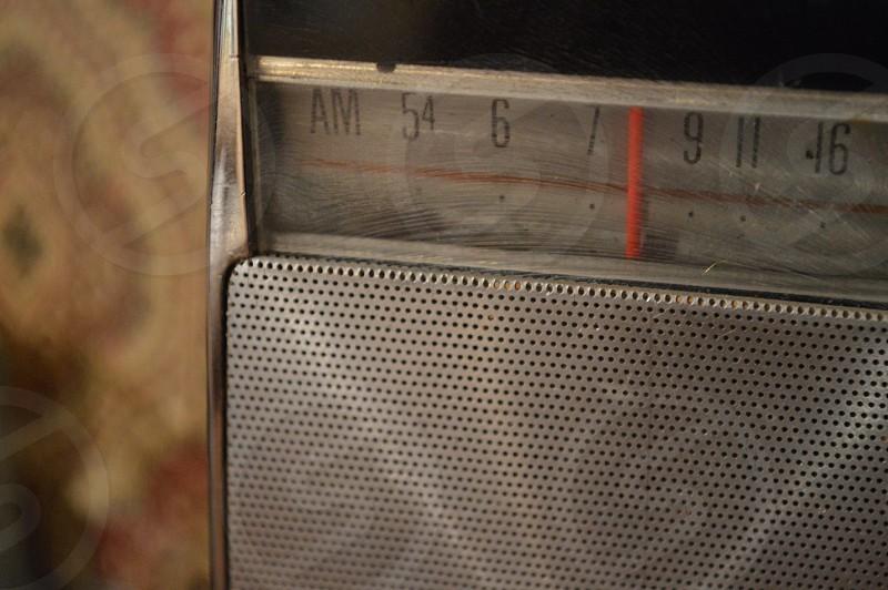 silver radio photo