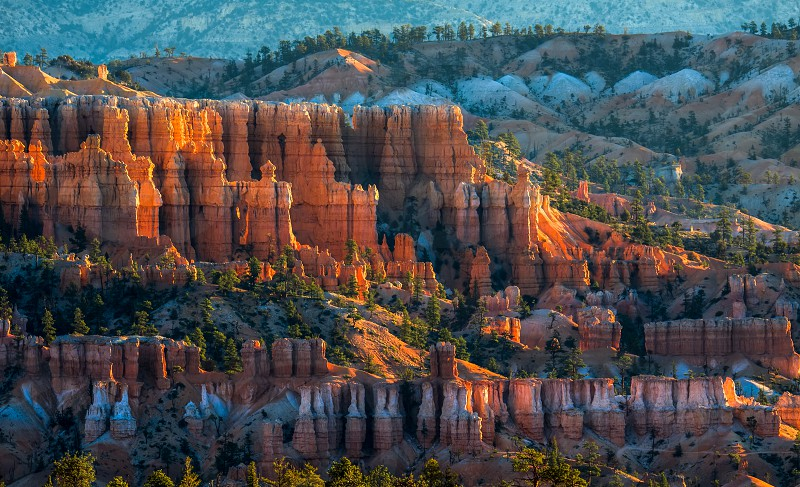 Golden Sunrise at Bryce Canyon photo