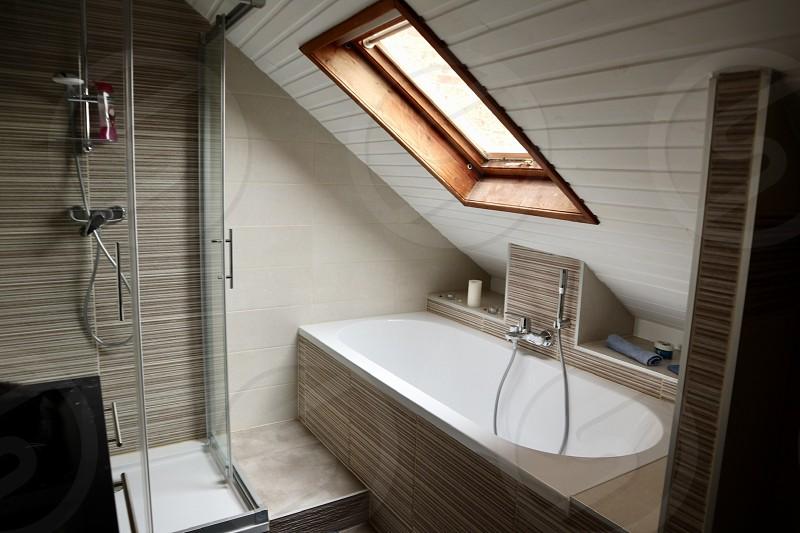 Home lifestyle bathroom  photo