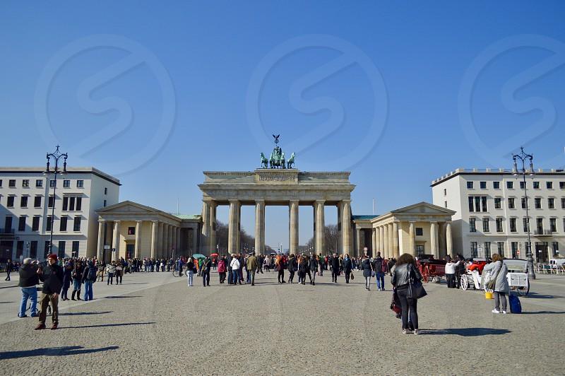 Brandenburg Gate / Brandenburger Tor photo