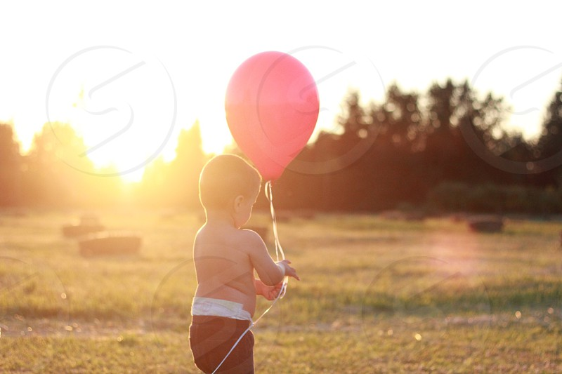 The Boy with the Red Balloon photo