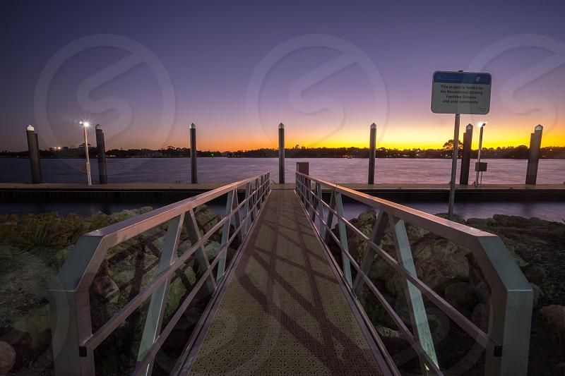 Sunset At Jetty photo