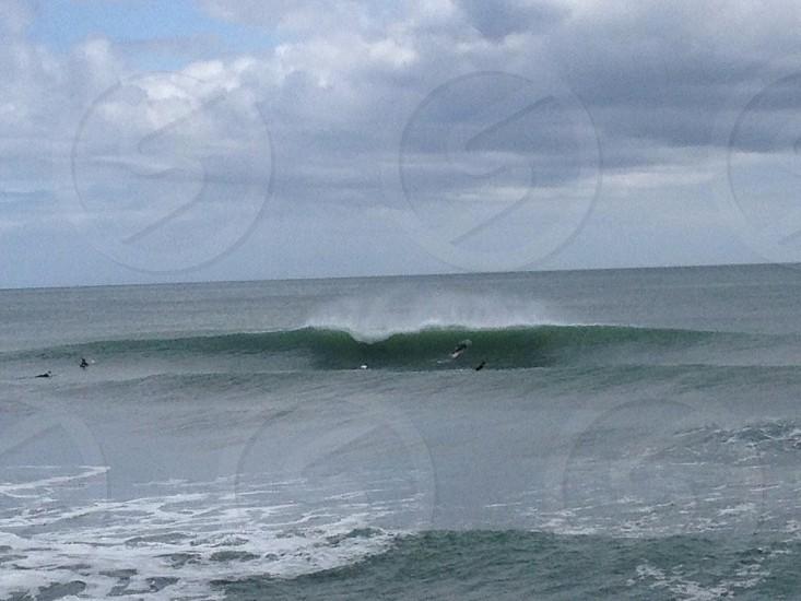 Perfect wave photo