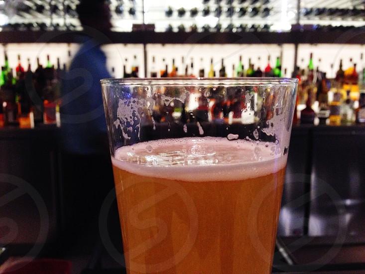 Beer bar night happy hour photo