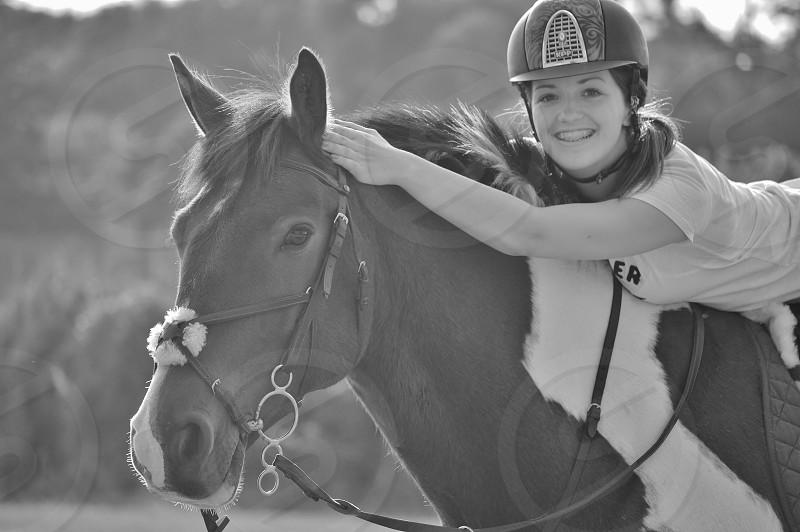 Horse and rider photo