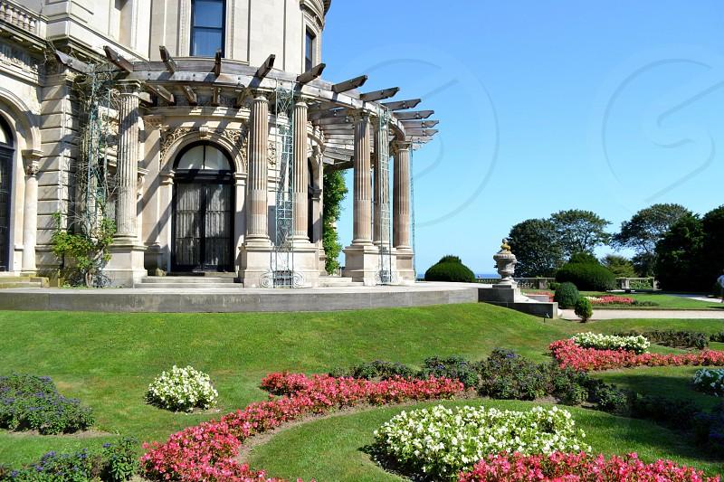 Newport mansion photo