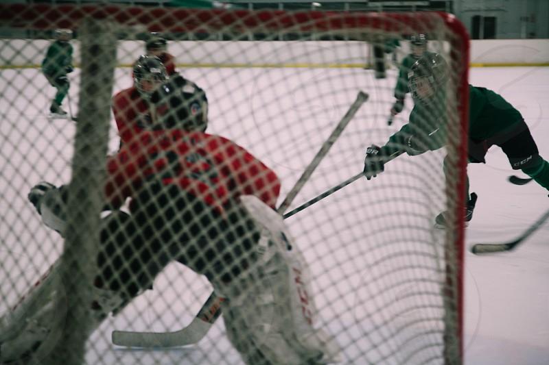 hockey game photo