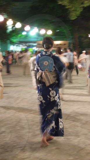 日本の盆踊り  Bon Dance in Japan photo