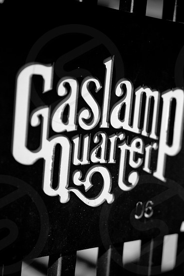 San Diego's historic Gaslamp Quarter photo