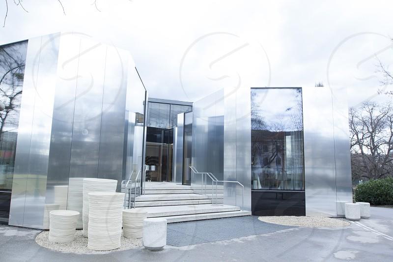 Michelin starred restaurant Steirereck in Vienna Austria photo