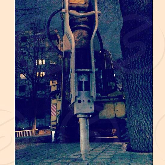 This is ekskavator. photo