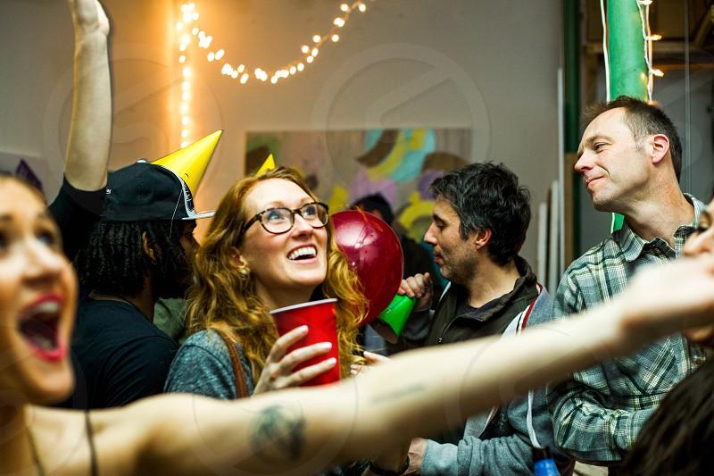 Fun party photo