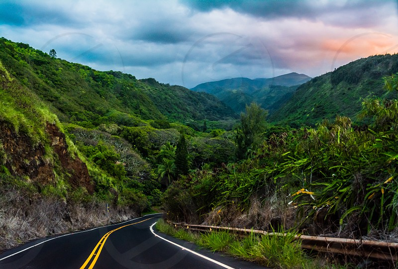 Into The Unknown. Maui Hawaii  photo