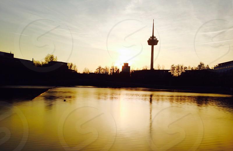 The sunrise photo