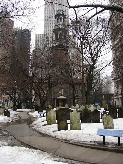 St Paul's Chapel NYC. February 21 2014 photo