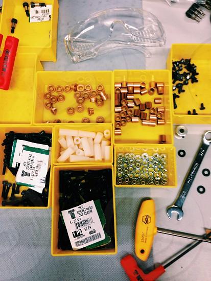 yellow box photo