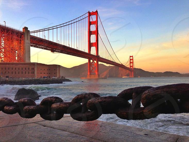 The Golden Gate Bridge San Francisco California photo