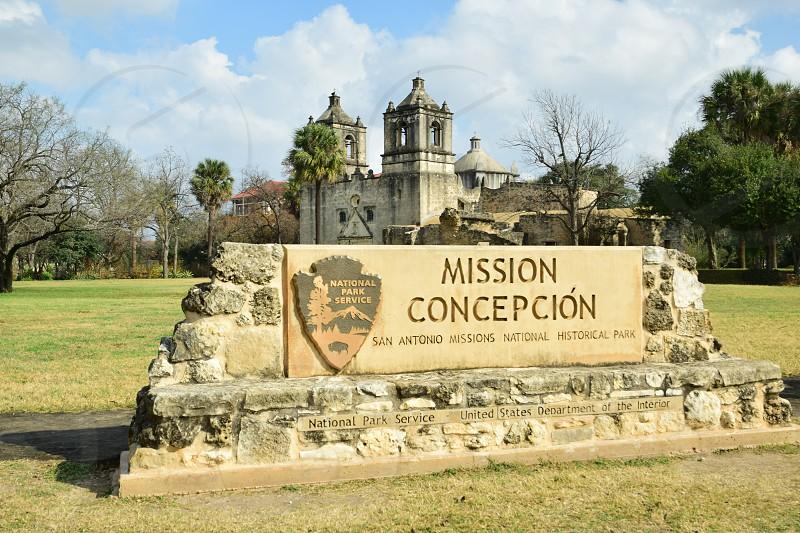 Mission Concepcion in San Antonio Texas photo