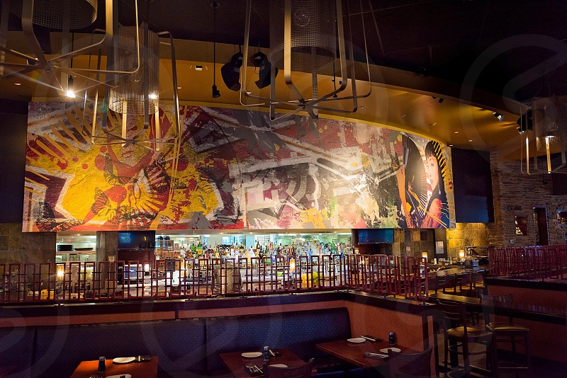 Mural and interior photography photo