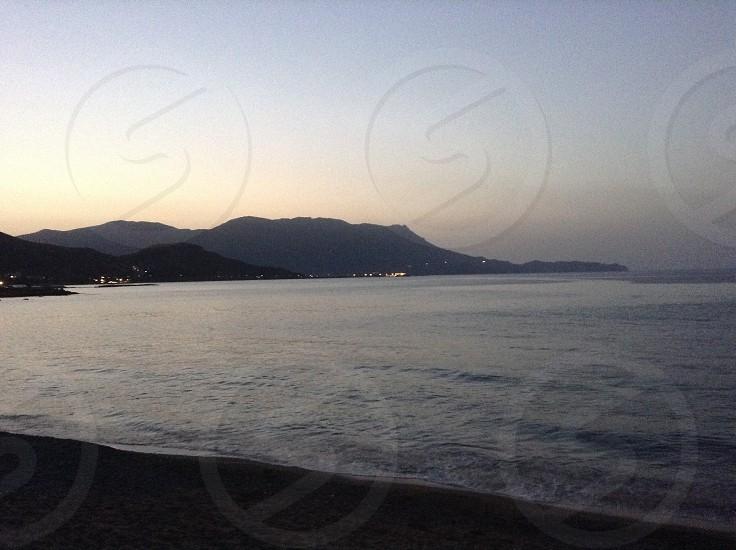Kasteli beach chania Crete Greece  photo