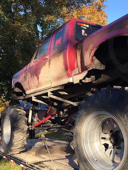 Monster truck only in America photo