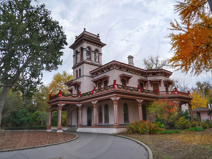 Bidwell Mansion State Historic Park In Chico California By Daria H Photo Stock Snapwire