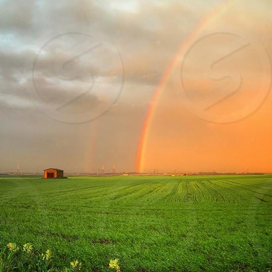 Tuscany  Italia  rainbow arcobaleno photo