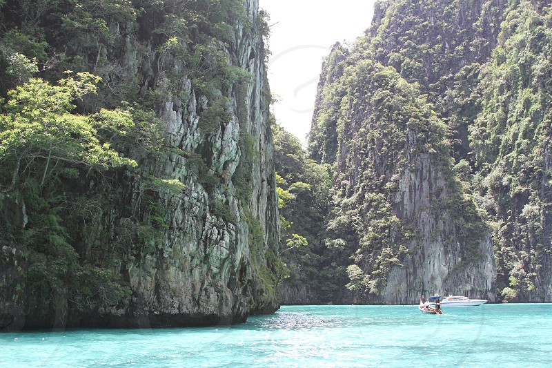 Phi phi islands tropical Thailand  photo