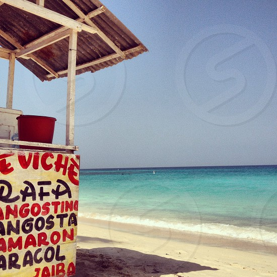 Playa Blanca Colombia  #beach #colombia #tropical photo