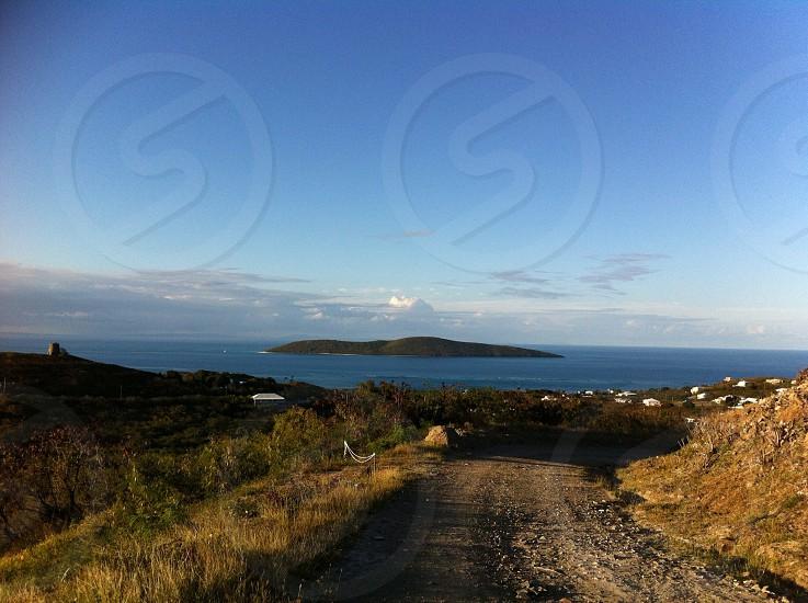Island; ocean; scenic photo
