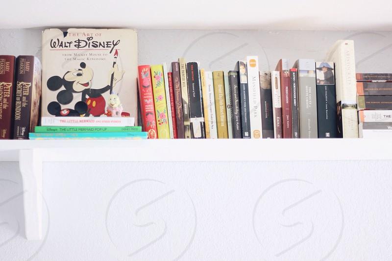 Bookshelf. photo