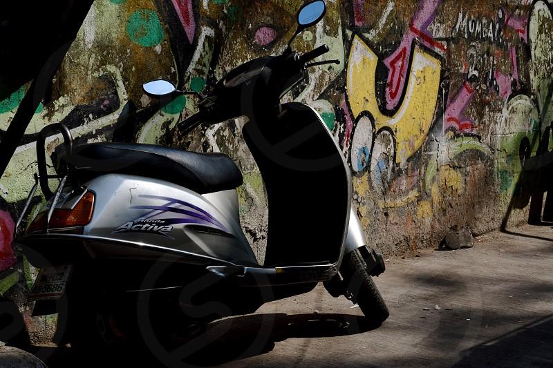 Bike and Art photo