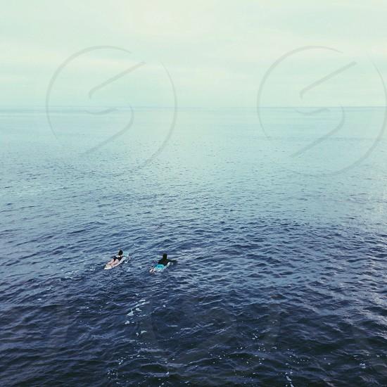 Tiny surfers photo