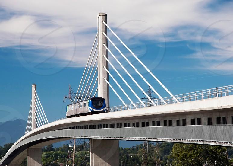 Canada Line Bridge. Vancouver. Canada photo