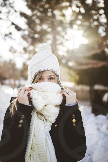 snow photoshoot  photo