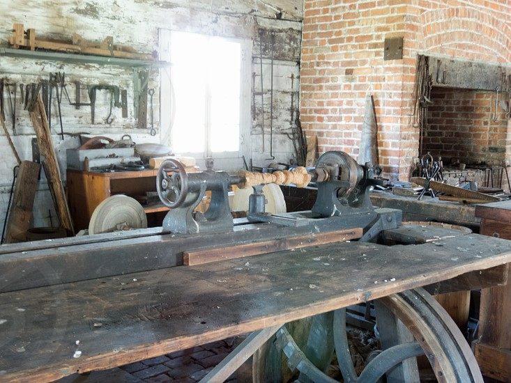 Industrial - Antique Colonial Workshop  photo