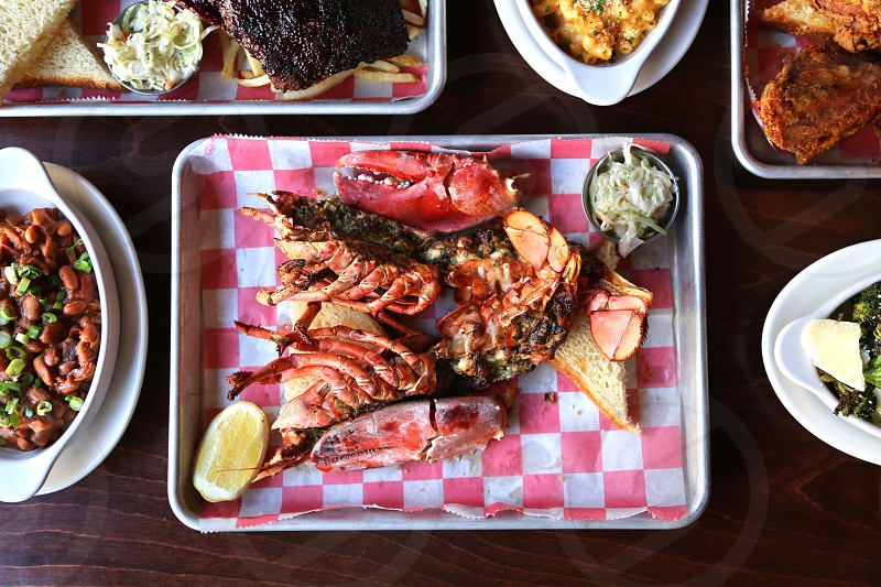 Grilled Split Maine Lobster takeout  photo