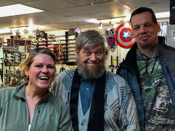 "We found ""Captain Ahab"" in a weapons store in Gatlingburgh Tennessee  photo"